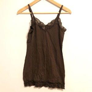 No Boundaries | Lace cami with adjustable straps